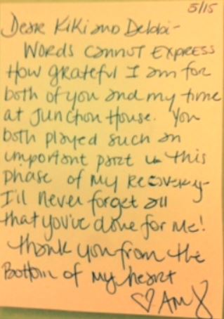 Junction House Women's Sober Living Home Testimonial